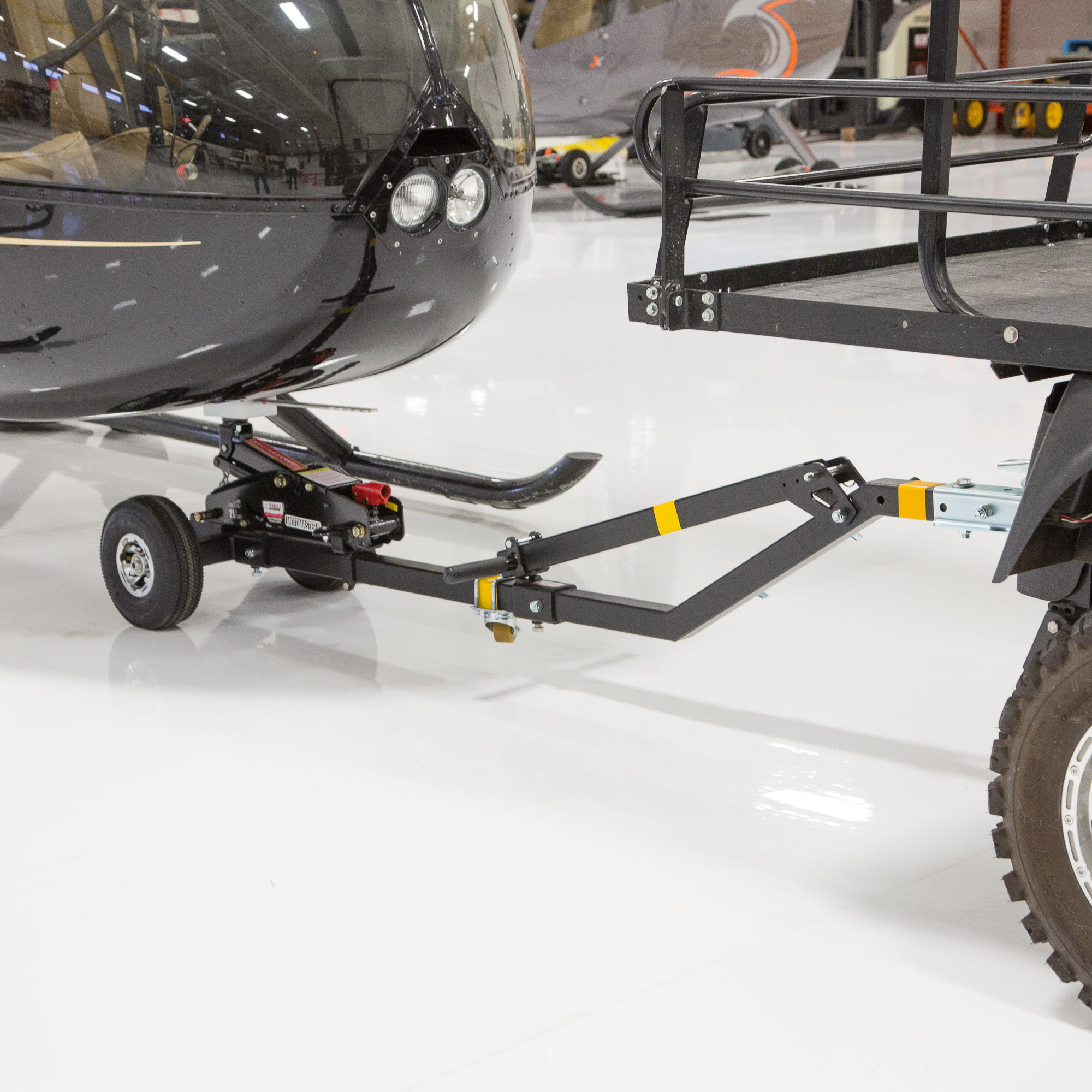 Towbar For Robinson Helicopters Helitowcart Shop
