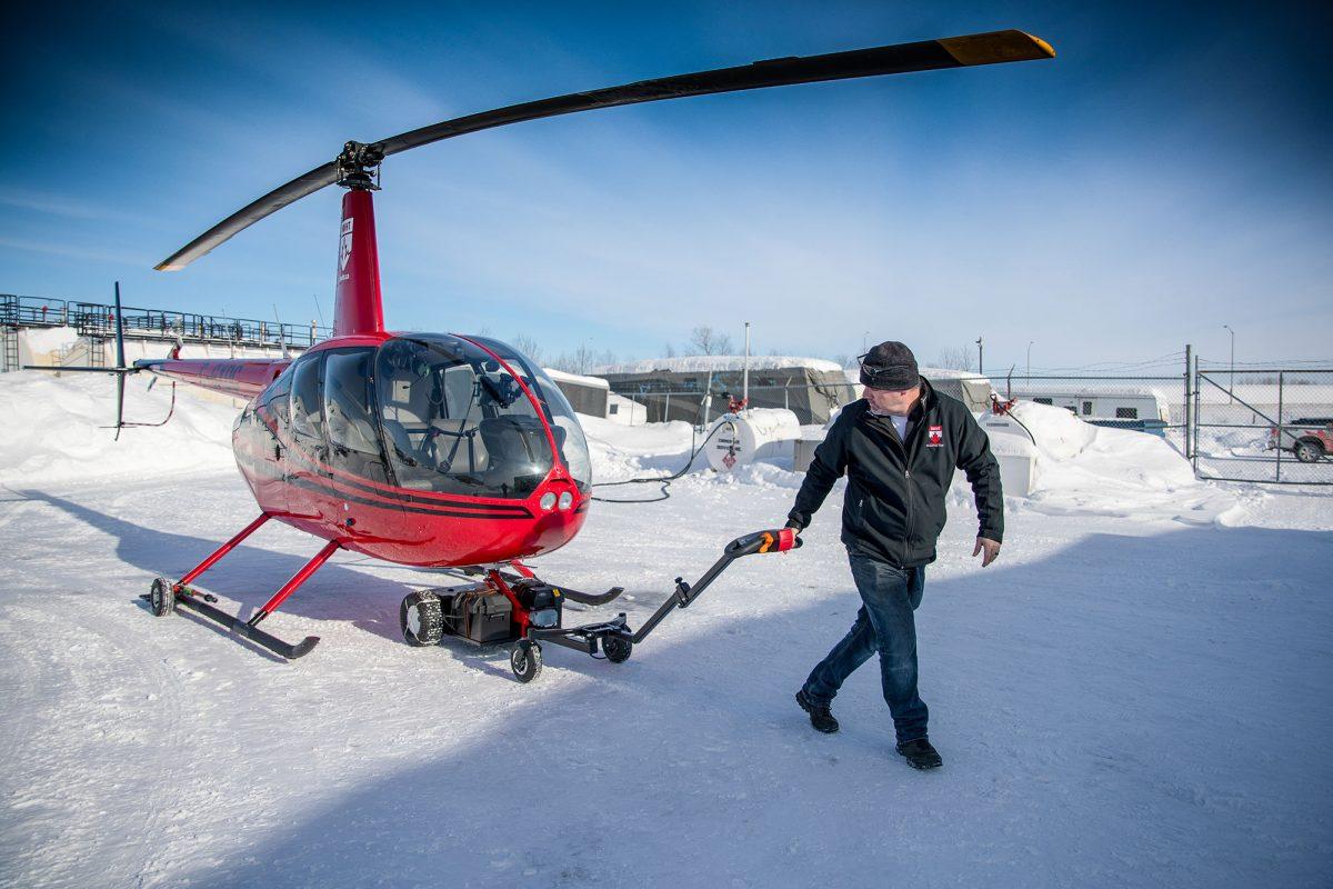 V201 in Canadian Winter | Photo @dmangilbert