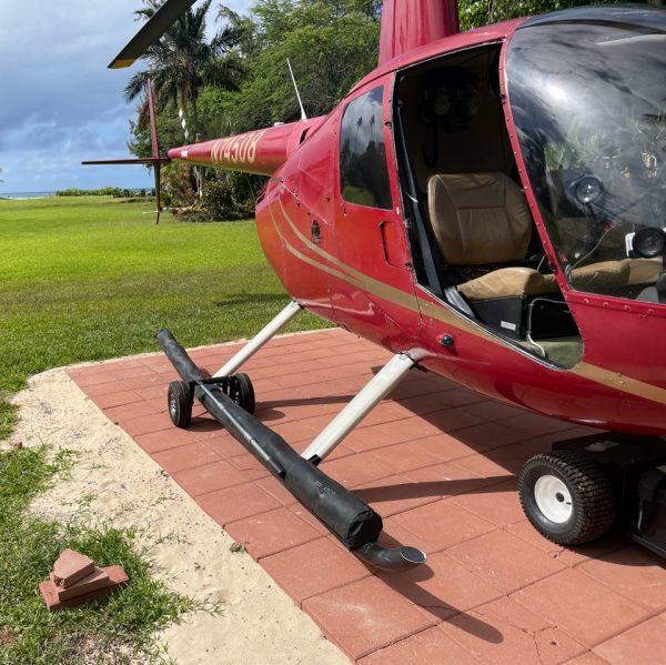 Dual Wheels for R44 Clipper / R66 Mariner